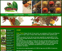 Urun Tarim website